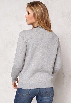 TOMMY HILFIGER Molly Sweatshirt 039 Light Grey Bubbleroom.se