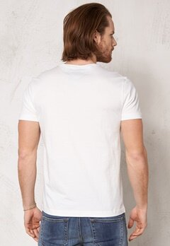 TOMMY HILFIGER Ray Tee 118 Snow White Bubbleroom.se