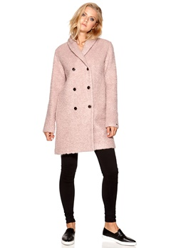 TOMMY HILFIGER Rebecca Coat Pink Bubbleroom.se
