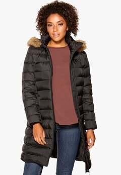 TOMMY HILFIGER Tyra Down Coat Masters Black Bubbleroom.se