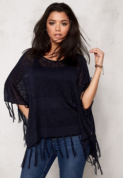 Pieces Tori Poncho Navy Blazer Bubbleroom.se