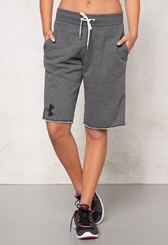 Under Armour Favorite Sweat Shorts 090 Carbon Heather Bubbleroom.se