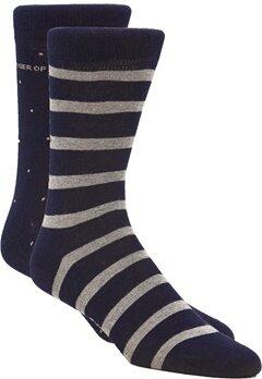 TIGER OF SWEDEN Valtorta Socks 2-P 229 Dark Jeans Blue Bubbleroom.se