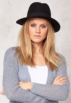 Pieces Varona wool hat Black Bubbleroom.se