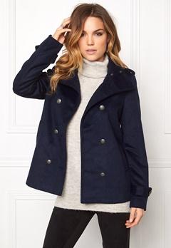 VERO MODA Abelle Rich Wool Jacket Navy Blazer Bubbleroom.se