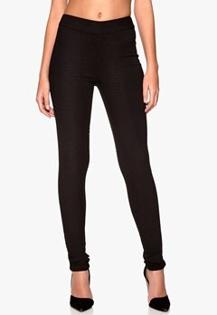 VERO MODA Animal Super Slim Pants Black 1 Bubbleroom.se