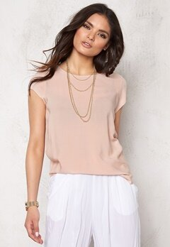 VERO MODA Boca SS Top Rose Dust Bubbleroom.se