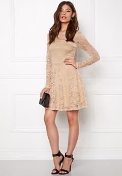 VERO MODA Celeb Lace Short Dress Ivory Cream Bubbleroom.se