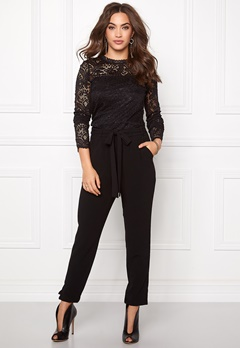 VERO MODA Celeb Lace Top Black Bubbleroom.se