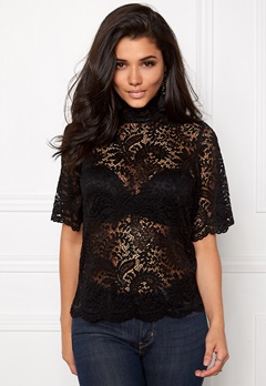 VERO MODA Celebe 2/4 Top Black Bubbleroom.se