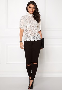 VERO MODA Celebe 2/4 Top Snow white Bubbleroom.se
