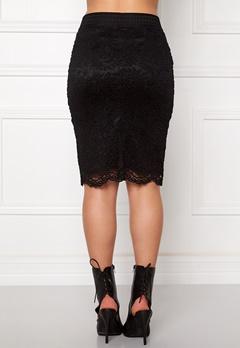 VERO MODA Celebe Skirt Black Bubbleroom.fi
