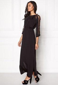 VERO MODA Dawn Long Dress Black Bubbleroom.se