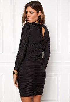 VERO MODA Dina LS Short Dress Black Bubbleroom.se