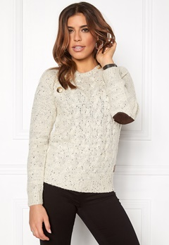 VERO MODA Emma LS Blouse Moonbeam Bubbleroom.fi