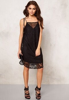 VERO MODA Fifi Nice Lace S Dress Black Bubbleroom.se