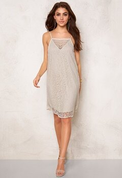 VERO MODA Fifi Nice Lace S Dress Moonbeam Bubbleroom.se