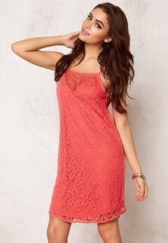 VERO MODA Fifi Nice Lace S Dress Rose of Sharon Bubbleroom.se