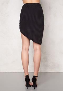 VERO MODA Karma high/low skirt Black Bubbleroom.no