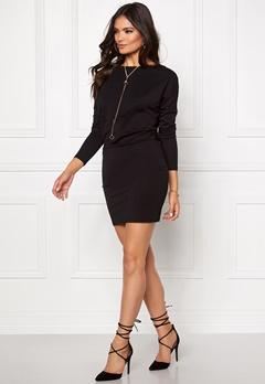 VERO MODA Kelly L/S Short dress Black Bubbleroom.se