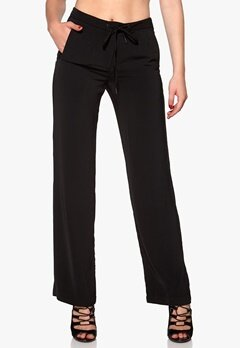 VERO MODA Lotte Wide Pant Black Bubbleroom.se