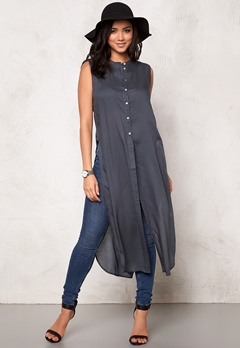 VERO MODA Meshy ankle shirt dress Ombre Blue Bubbleroom.se