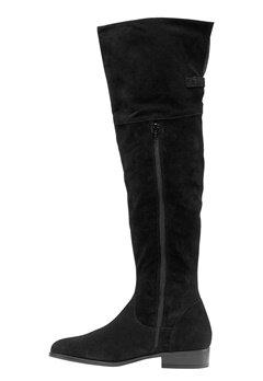VERO MODA Mille Leather Overknee Black Bubbleroom.se