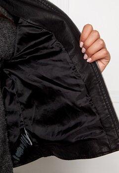 VERO MODA Mira Short Pu Jacket Black Bubbleroom.se