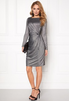 VERO MODA Moon ls Knot Dress Black Bubbleroom.no