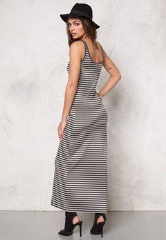 VERO MODA Nanna Ancle Dress noos Beluga/w Stripes Bubbleroom.se