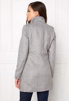 VERO MODA One Dope 3/4 Jacket Light Grey Melange Bubbleroom.se