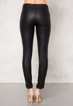 VERO MODA Seven Super Slim Pants Black Bubbleroom.se