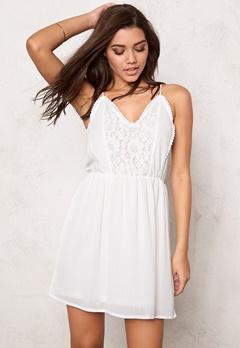 VERO MODA Sucre Mini Dress Bright White Bubbleroom.se