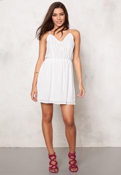 VERO MODA Sucre Mini Dress Bright White Bubbleroom.fi