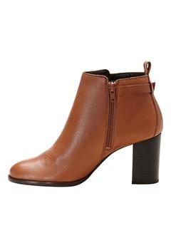 VERO MODA Suna Leather Boot Cognac Bubbleroom.se