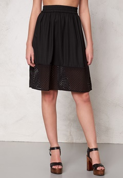 VERO MODA Thea skirt Black Bubbleroom.se