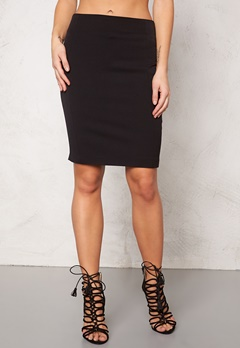 VILA Asmin New Skirt noos Black Bubbleroom.se