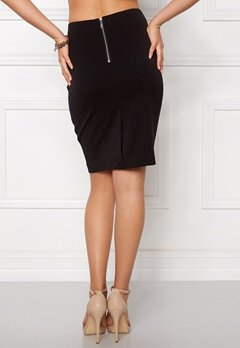 VILA Asmin Skirt Black Bubbleroom.fi