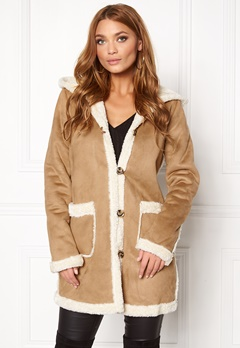 VILA Ava Coat Dusty Camel Bubbleroom.fi