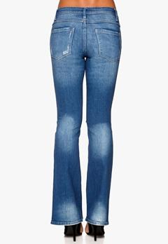 VILA Calm 5p Flared Jeans Medium Blue Denim Bubbleroom.se