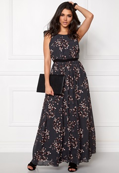VILA Cherra maxi dress Ebony Bubbleroom.fi