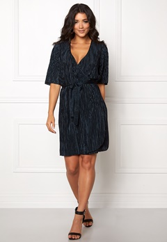 VILA Claudie Plizze Dress Total Eclipse Bubbleroom.fi