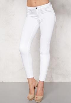VILA Commit RW 7/8 Pants Optical Snow Bubbleroom.se