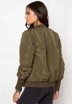 VILA Concrete new jacket Ivy Green Bubbleroom.se