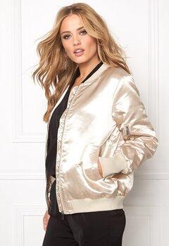 VILA Concrete Sateen Jacket Pink Tint Bubbleroom.se