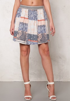 VILA Dalias Skirt Snow White Bubbleroom.se
