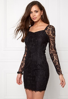 VILA Femira Dress Black Bubbleroom.fi