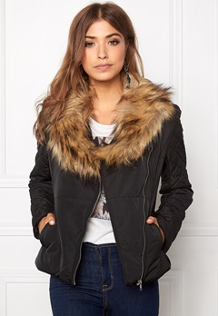 VILA Groova Jacket Black Bubbleroom.fi