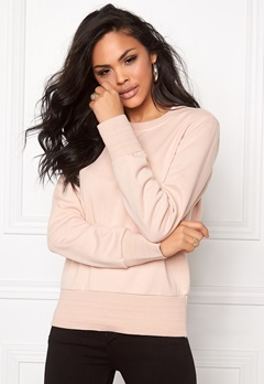 VILA Hamas l/s Top Rose Dust Bubbleroom.se