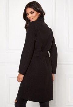 VILA Ida New Coat Black Bubbleroom.se